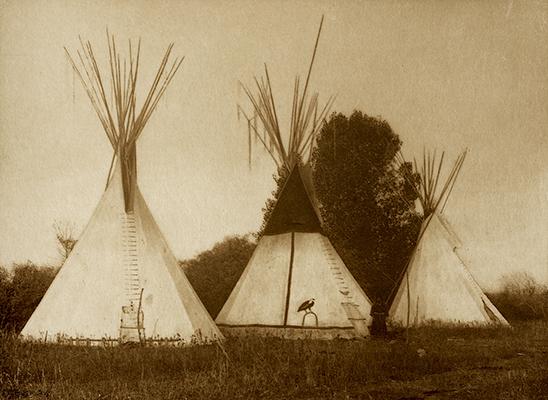 Apsaroke Camp,