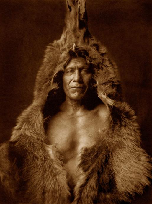Mammoth Print ~ Bear's Belly – Arikara, 1904.