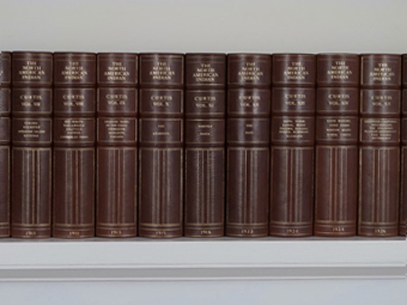 Volumes from The North American Indian