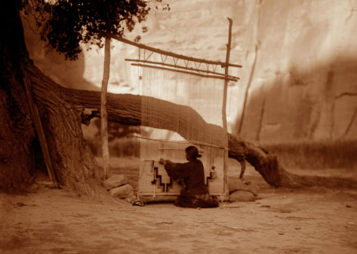 The Blanket Weaver – Navaho,1904