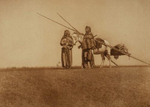 A Blackfoot-Travois