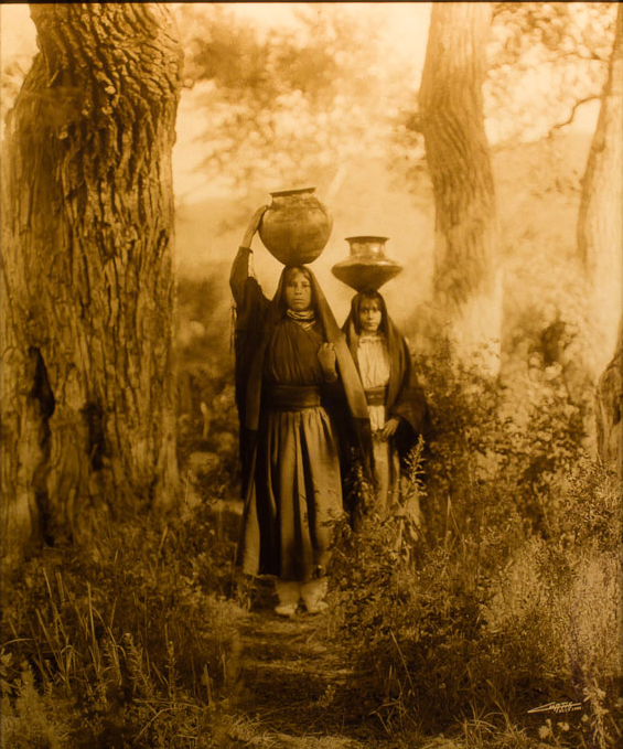 Taos Water Girls,1905
