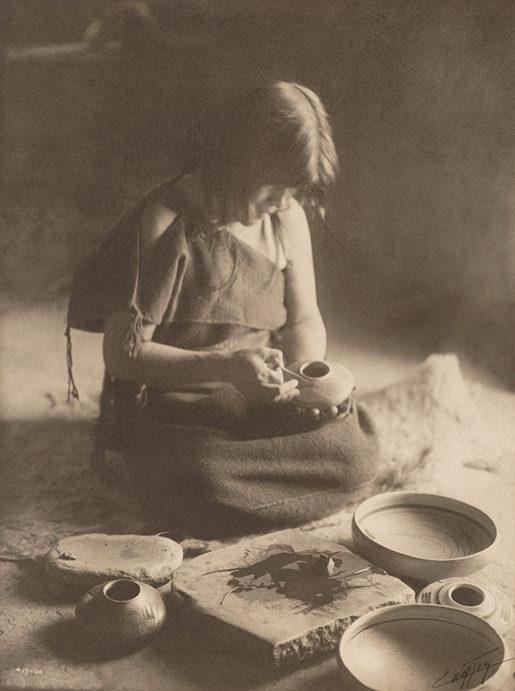 The Potter (Nampeyo) - Hopi, 1906
